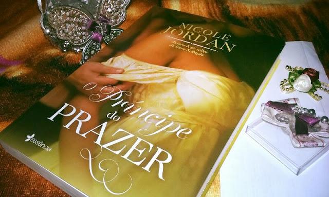 Resenha do livro O Príncipe do Prazer de Nicole Jordan