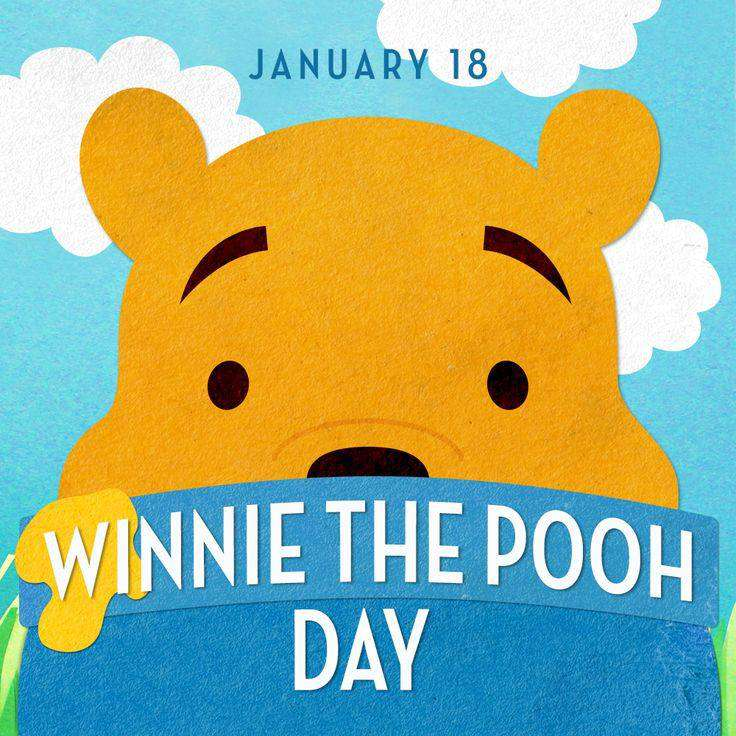 National Winnie the Pooh Day Wishes Unique Image