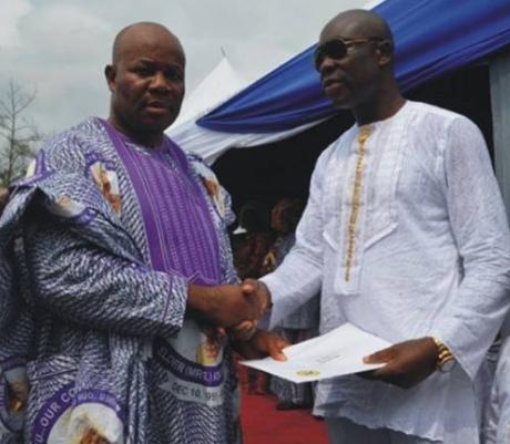 governor akpabio cousin arrested oil scam