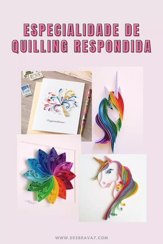 Especialidade de Quilling