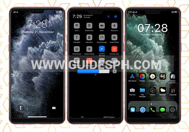 Oppo Theme: Iphone 11 Dark Theme Free Download