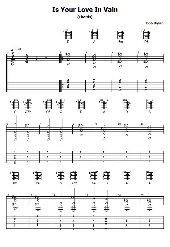 Is Your Love In Vain Tabs Bob Dylan. How To Play Is Your Love In Vain On Guitar/ Bob Dylan Honesty Free Tabs / Bob Dylan Sheet Music. Bob Dylan- Is Your Love In Vain Chords