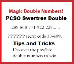PCSO Swertres Double Number Combination Swertres Tips To Win