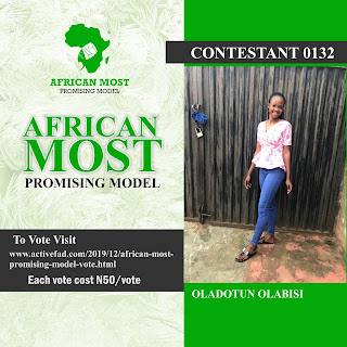 Vote African Most Promising Model 5 & 6