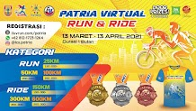 Patria Virtual Run & Ride • 2021