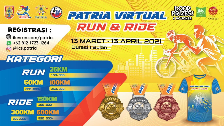 Patria Virtual Run & Ride • 2021