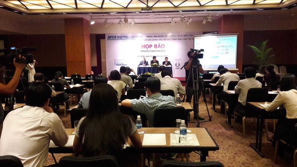 Quang cảnh buổi họp báo giới thiệu MTA Vietnam 2017