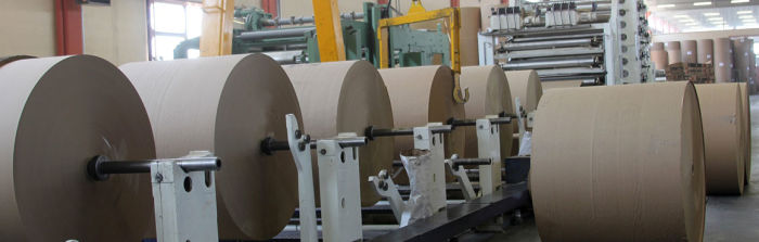Embobinado de papel en la industria del reciclaje