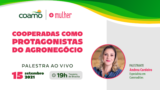 """""""Protagonistas do agronegócio"""", é tema de evento para mulheres cooperativistas da Coamo"""