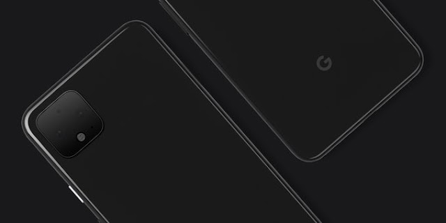 Google releases the official Pixel 4 image Which offers technology to set up a three-lens camera
