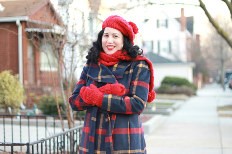 A Vintage Nerd Retro Fashion Blogger Modcloth Coat Vintage Winter Fashion