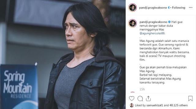 Pandji Pragiwaksono Upload Curhatannya Di Instagram