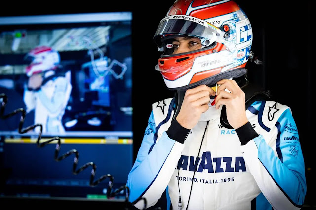 George Russell (GBR) Williams Racing. Russian Grand Prix, Saturday 26th September 2020. Sochi Autodrom, Sochi, Russia.
