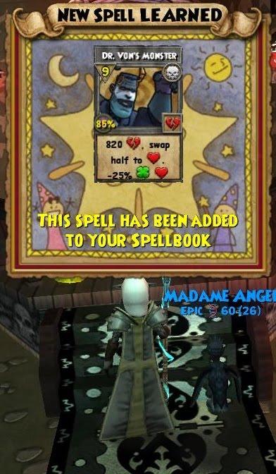 death wizard101 spells - photo #13