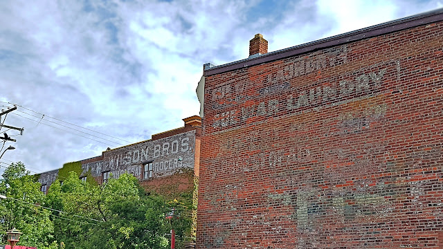 A small sample of ghost signs in Victoria, BC...