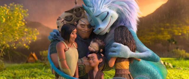 Kelly Marie Tran Awkwafina Gemma Chan Izaac Wang Benedict Wong Thalia Tran Don Hall Carlos López Estrada   Raya and the Last Dragon   Disney Plus