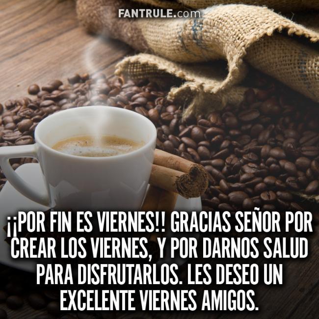 Buenos Días Viernes Bendecido y Feliz Imágenes de Café