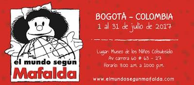 EL MUNDO SEGÚN MAFALDA EN BOGOTA 1