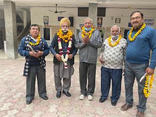 मोहन सिंह भाटिया पुनः भाटिया सेवक समाज के प्रधान चुने गए, बी डी भाटिया को महासचिव की जिम्मेवारी