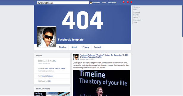 FB Profile