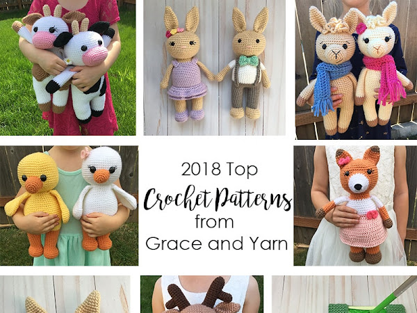 2018 Top Crochet Patterns from Grace and Yarn