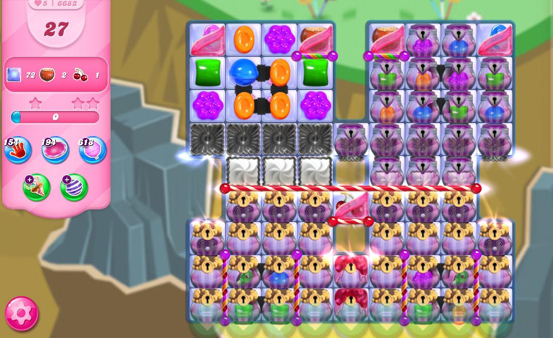Candy Crush Saga level 6683