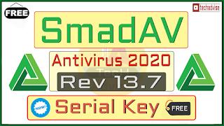 SmadAV Antivirus 2020 rev 13.7 Serial key crack full version Free Download