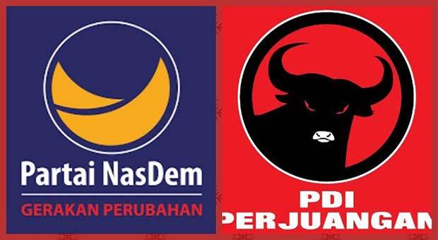PDIP Nggak Bakal Peduli Andai Nasdem Benar Jadi Oposisi
