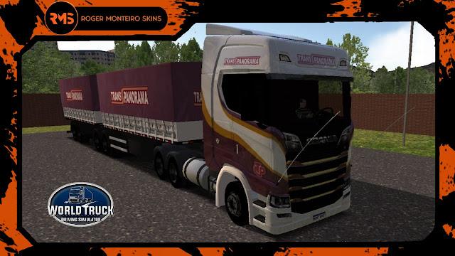 Scania S Transpanorama - Skins Scania S - Transpanorama