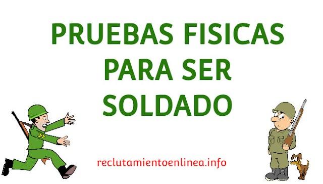 ᐅ Pruebas FISICAS para SOLDADO del Ejercito Ecuatoriano