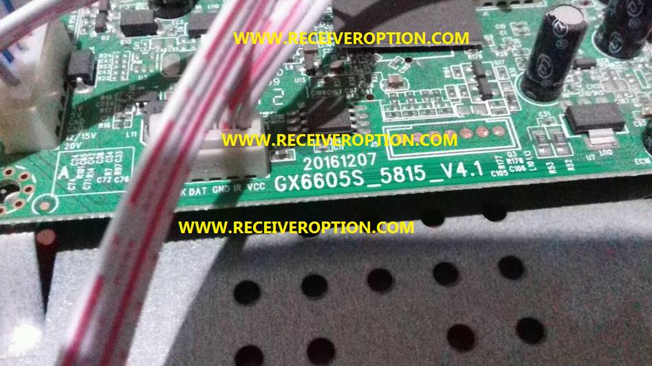 GX6605S 5815 V4 1 TYPE HD RECEIVERS POWERVU KEY SOFTWARE NEW UPDATE