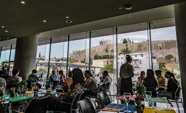 Restaurante do Museu da Acrópole de Atenas