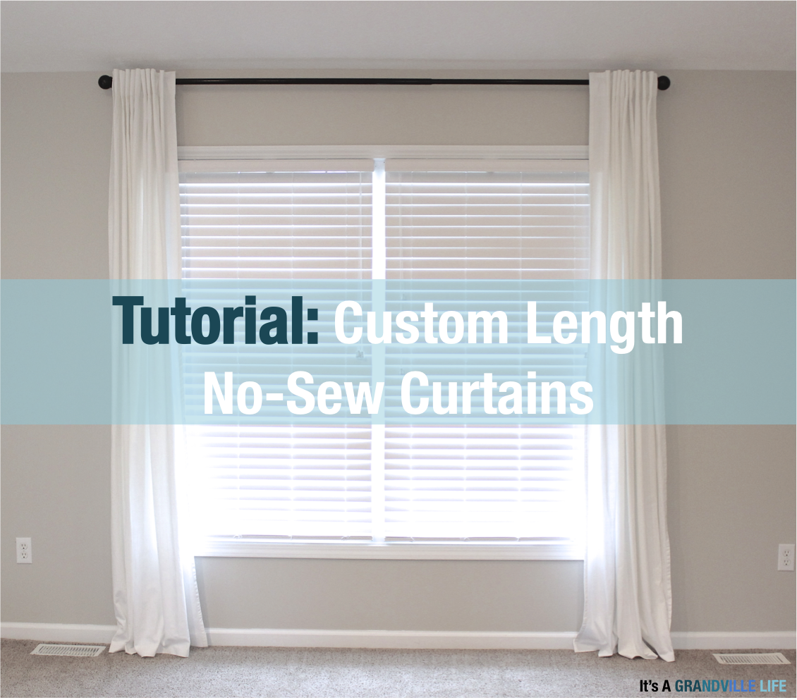 No Sew Custom Length Rivta Curtains