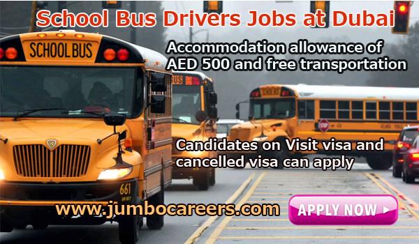 Urgent Dubai jobs with accommodation, Non teaching vacancies in Dubai,