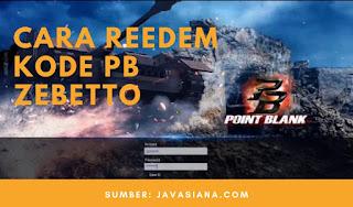 Cara Redeem (Tukar) Kode PB Zepetto Update 2020
