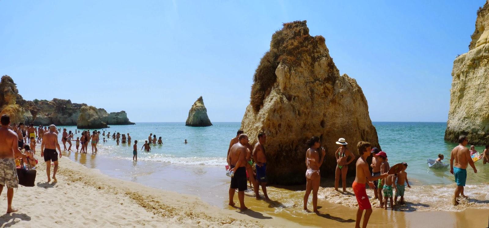 Playa de Três Irmãos.