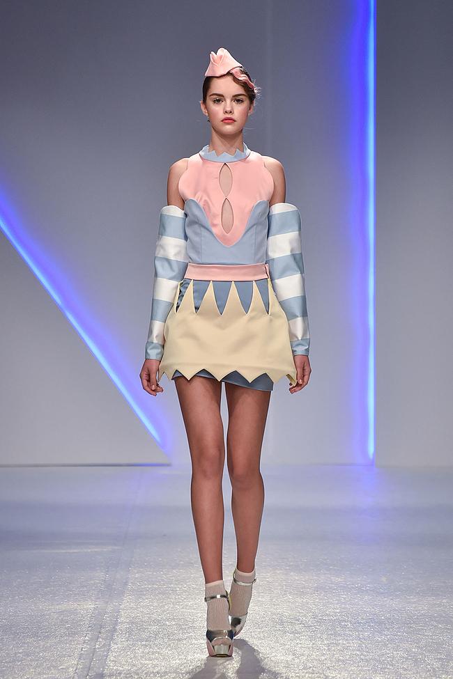 Ana Ljubinković, SS17, Belgrade fashionweek