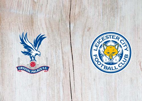 Crystal Palace vs Leicester City Full & Highlights 3 November 2019