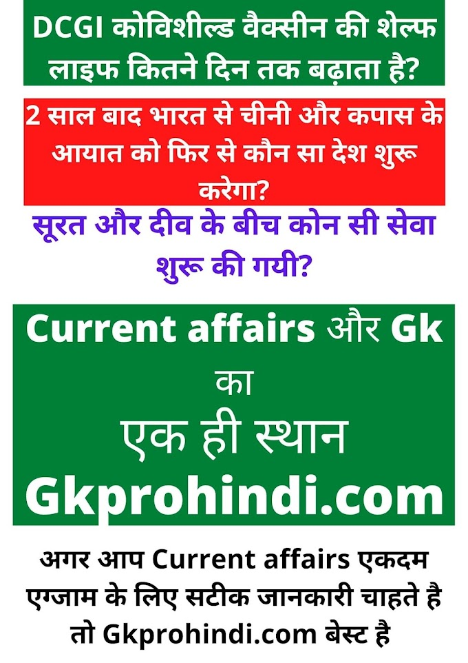 current affairs april 2021 in hindi
