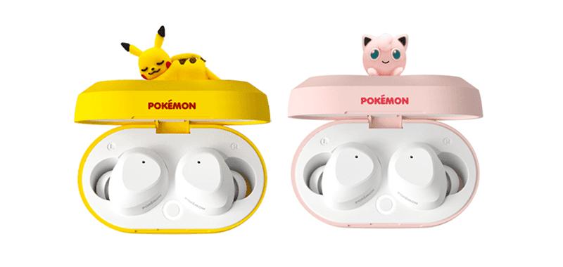 Pokemon Store Korea exclusive Pikachu and Jigglypuff true wireless earphones now official!