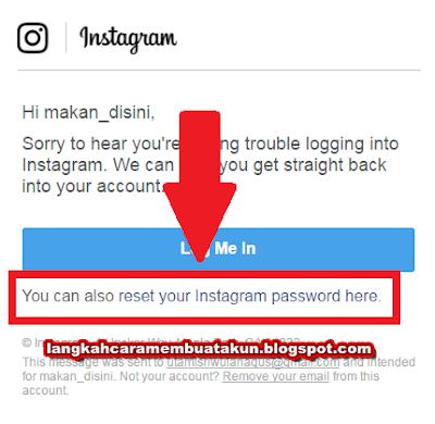 Cara Mengetahui Password Instagram Sendiri - Lupa Sandi Akun
