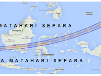Ini Senarai Bandar Yang Dilalui Gerhana Matahari Total di Malaysia