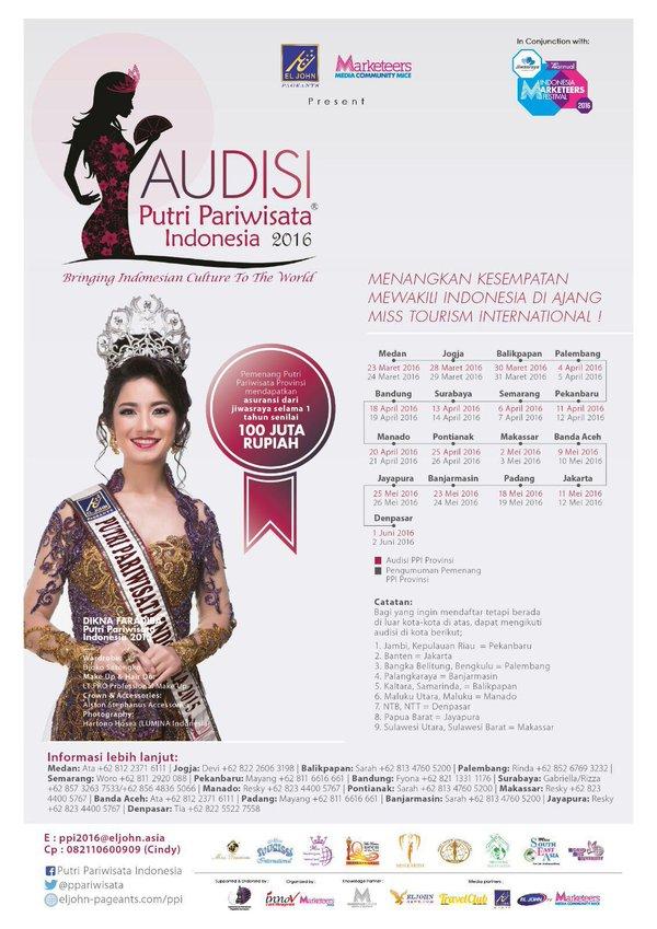 Pemilihan Puteri Pariwisata Indonesia 2016