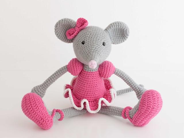 amigurumi-ratita-mouse-ballerina