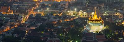Wat Saket Temple in Bangkok - Thailand