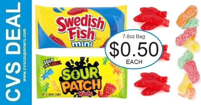 Cheap Sour Patch Kids & Swedish Fish at CVS
