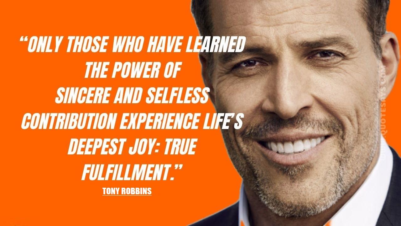 Tony Robbins Quotes on Love