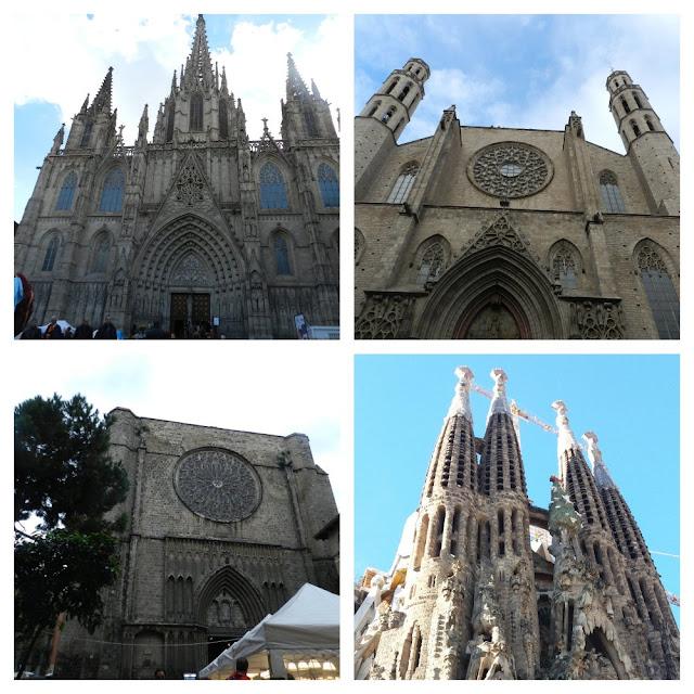 As igrejas mais lindas de Barcelona!