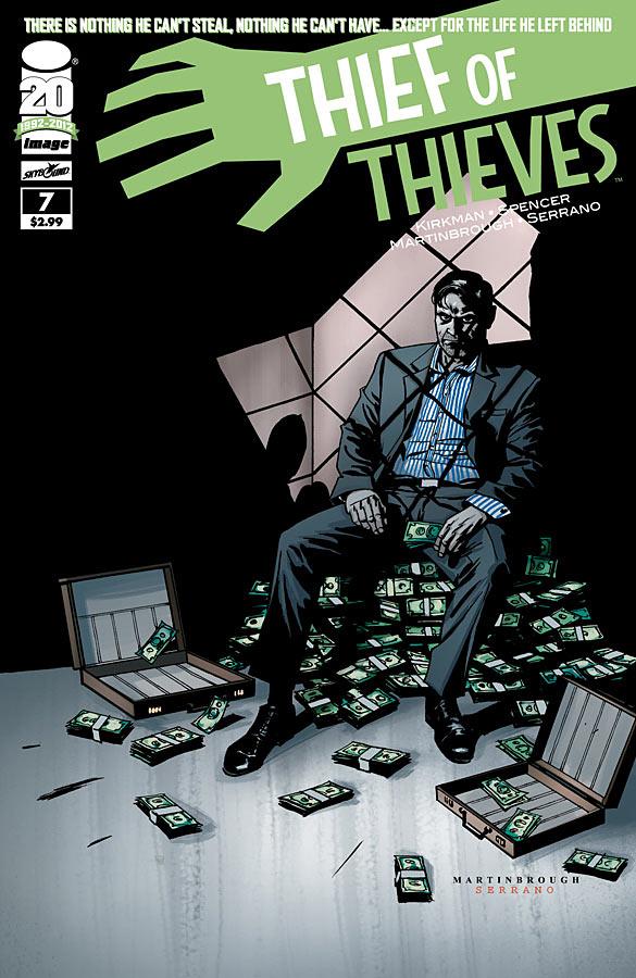 THIEF OF THIEVES #1 4th PRINT ROBERT KIRKMAN IMAGE COMIC BOOK SKYBOUND NEW 2012