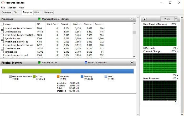 جعل ويندوز 10 تشغيل أسرع الموارد مراقب